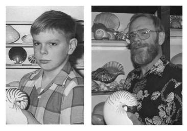 shell collector 50 years apart